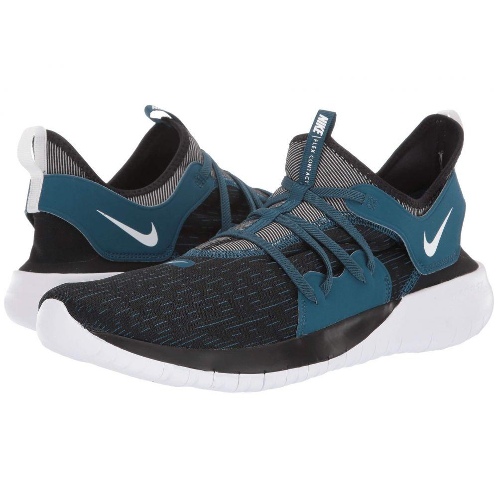 ナイキ Nike メンズ ランニング・ウォーキング シューズ・靴【Flex Contact 3】Black/Topaz Mist/Blue Force