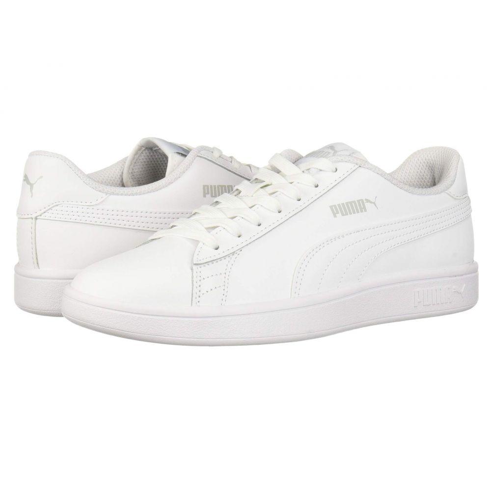 プーマ PUMA メンズ スニーカー シューズ・靴【Smash V2 L】Puma White/Puma White