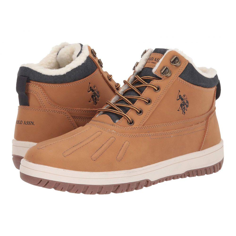 ユーエスポロアッスン U.S. POLO ASSN. メンズ ブーツ シューズ・靴【U-Salisbry】Wheat/Wheat