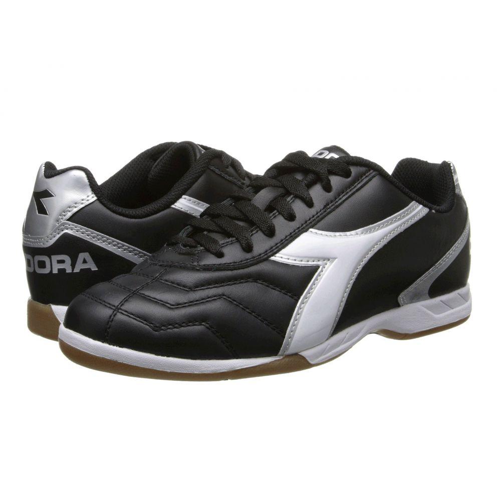 ディアドラ Diadora メンズ サッカー シューズ・靴【Capitano LT ID】Black/White/Silver