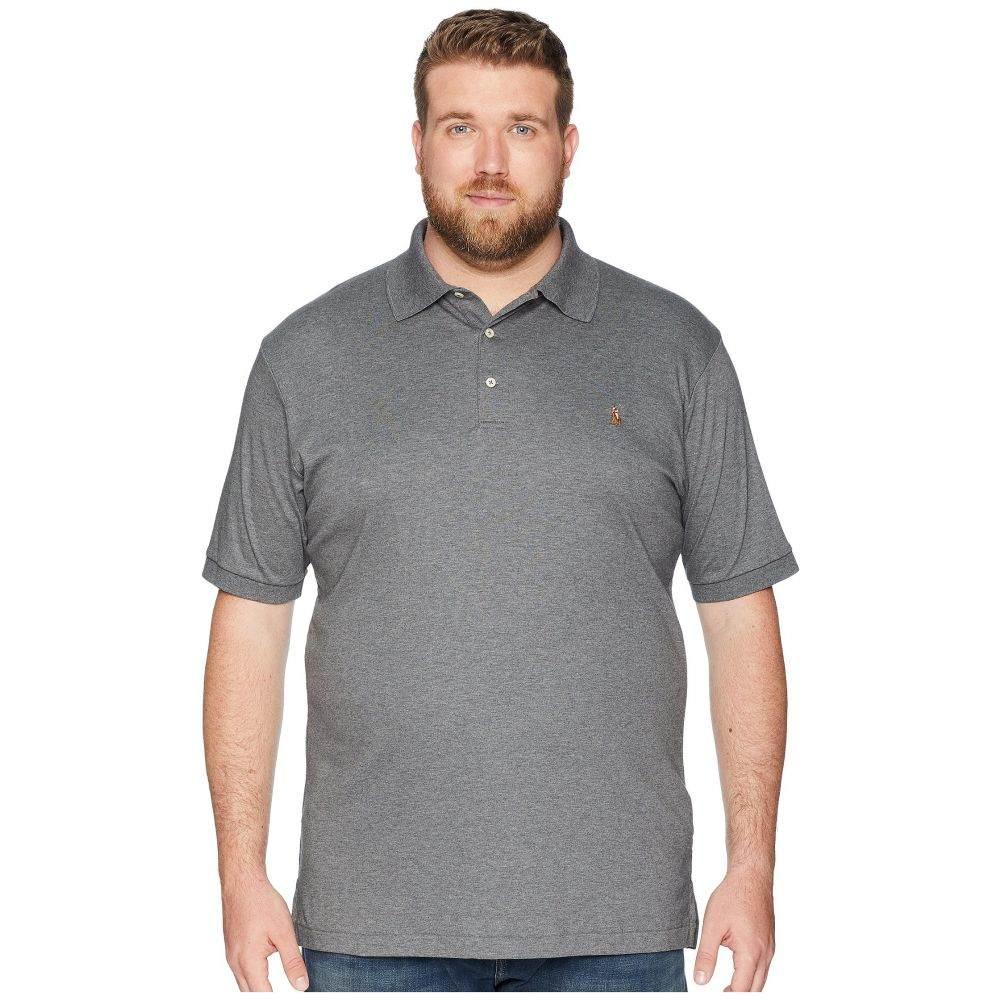 ラルフ ローレン Polo Ralph Lauren Big & Tall メンズ ポロシャツ 大きいサイズ トップス【Big & Tall Pima Knit Polo】Fortress Grey Heather