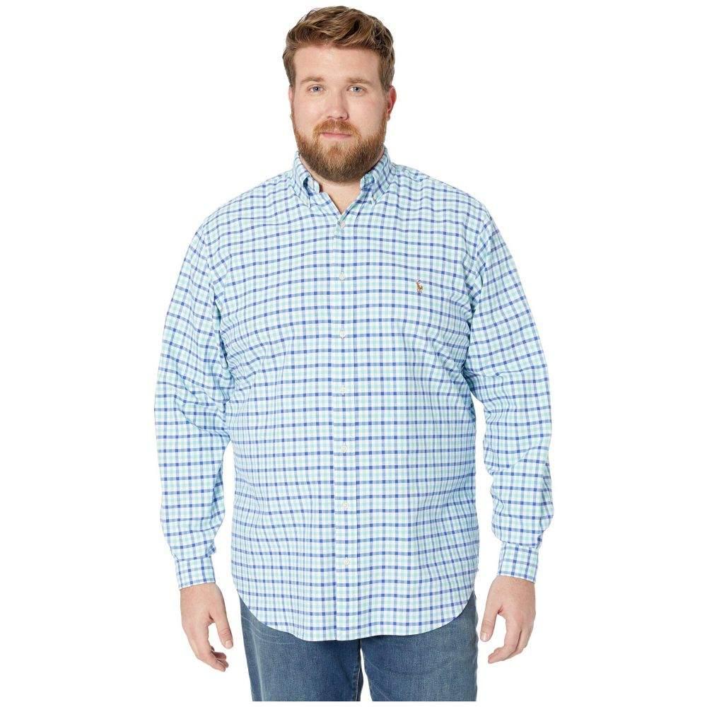ラルフ ローレン Polo Ralph Lauren Big & Tall メンズ シャツ 大きいサイズ トップス【Big & Tall Oxford Long Sleeve Classic Fit Shirt】Seafoam/Blue