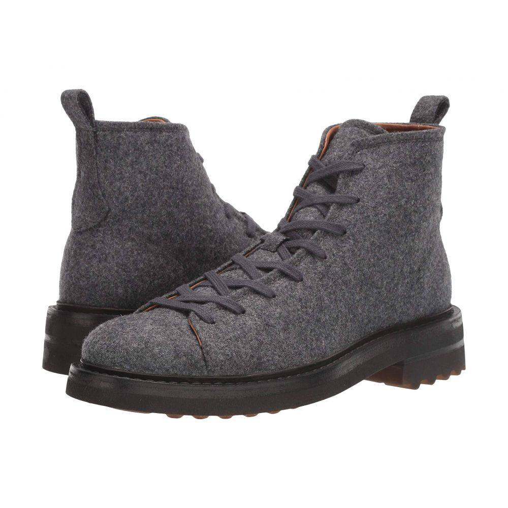ジョン バルベイトス John Varvatos Collection メンズ ブーツ シューズ・靴【Essex Trooper Boot】Light Grey Heather