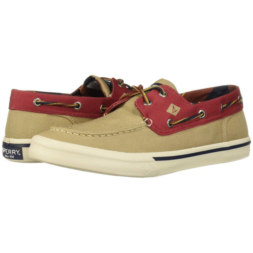 スペリー Sperry メンズ デッキシューズ シューズ・靴【Bahama II Varsity】Khaki/Burgundy