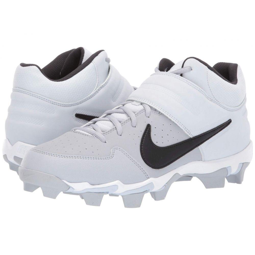 ナイキ Nike メンズ 野球 シューズ・靴【Alpha Huarache Varsity Keystone Mid】Wolf Grey/Black/Pure Platinum/Oil Grey