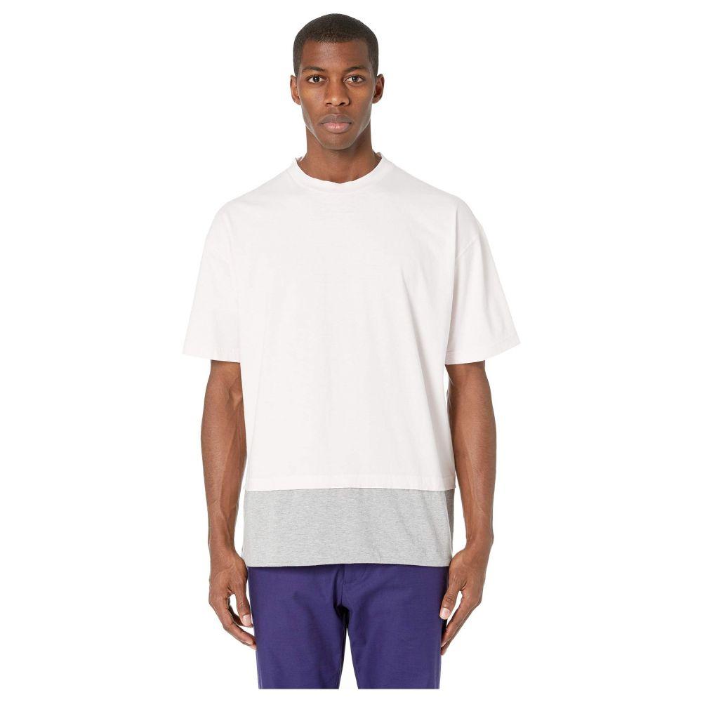 マルニ MARNI メンズ Tシャツ トップス【Cotton Jersey T-Shirt】Pink/Grey