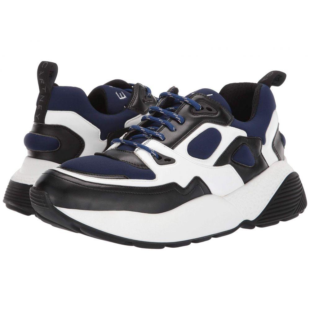 ステラ マッカートニー Stella McCartney メンズ スニーカー チャンキーヒール シューズ・靴【Contrast Sport Style Chunky Sneaker】Black/White/Dark Blue