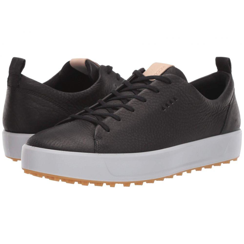 エコー ECCO Golf メンズ スニーカー シューズ・靴【Soft Low Hydromax】Black