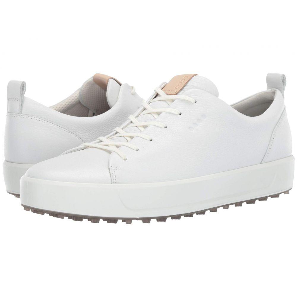 エコー ECCO Golf メンズ スニーカー シューズ・靴【Soft Low Hydromax】Bright White