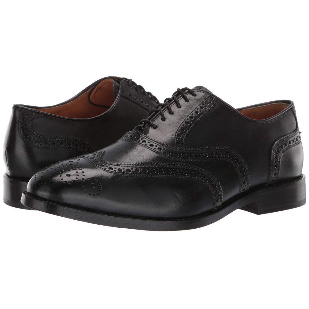 コールハーン Cole Haan メンズ 革靴・ビジネスシューズ メダリオン ウイングチップ シューズ・靴【Kneeland Wing Tip Brogue Oxford】Black