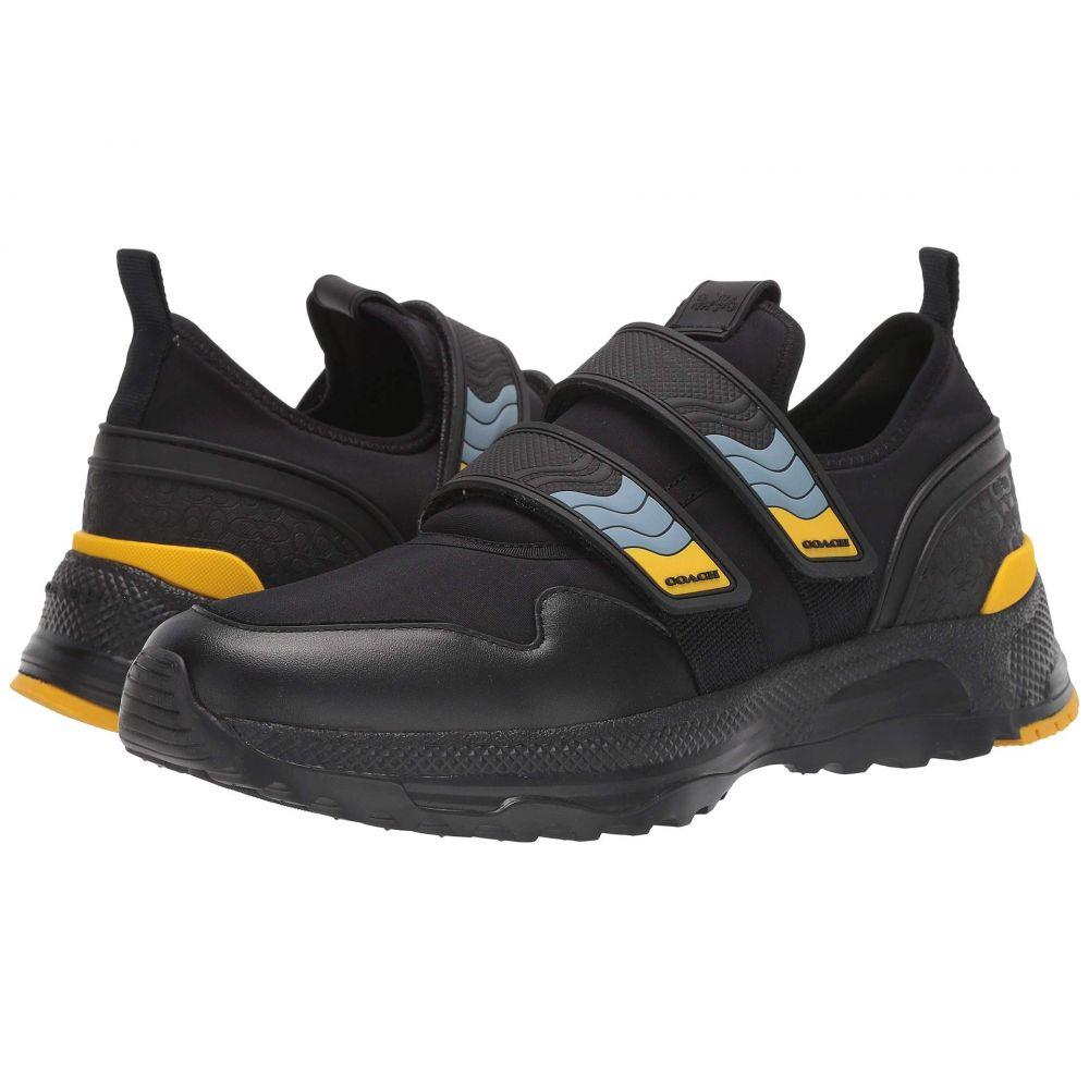 コーチ COACH メンズ スニーカー シューズ・靴【C143 Two Straps】Black Multi