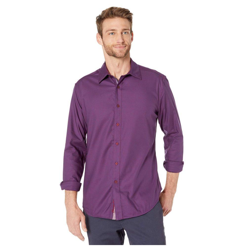 ロバートグラハム Robert Graham メンズ シャツ トップス【Hearst Long Sleeve Sport Shirt】Berry