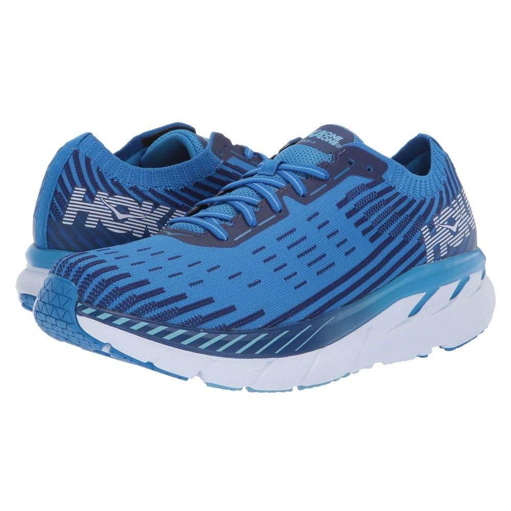 ホカ オネオネ Hoka One One メンズ ランニング・ウォーキング シューズ・靴【Clifton 5 Knit】French Blue/Twilight Blue