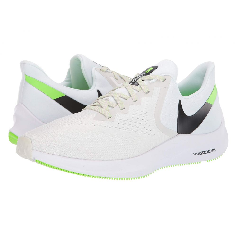 ナイキ Nike メンズ ランニング・ウォーキング シューズ・靴【Air Zoom Winflo 6】Platinum Tint/Black/White/Electric Green