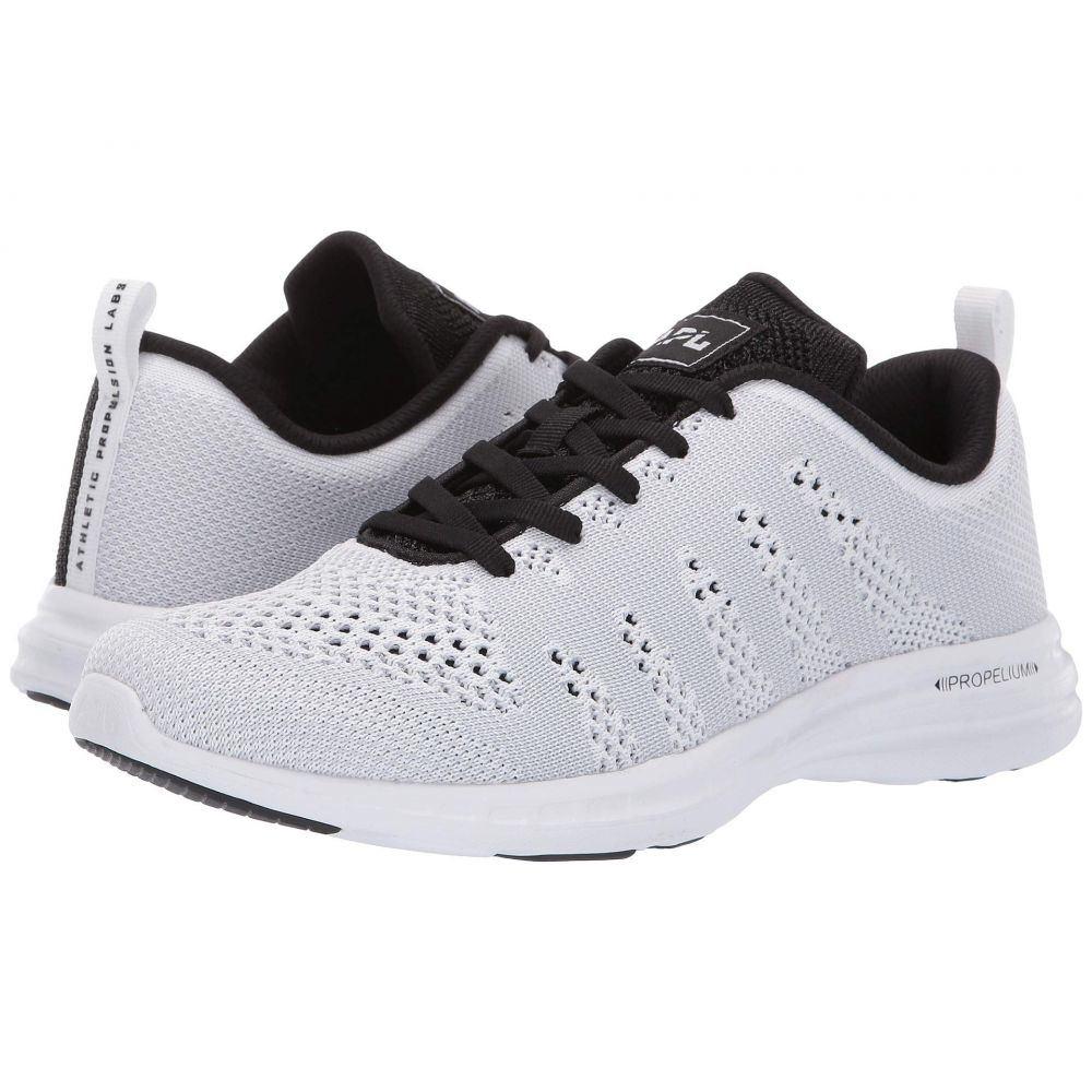 アスレチックプロパルションラブス Athletic Propulsion Labs (APL) メンズ スニーカー シューズ・靴【Techloom Pro】White/Steel Grey/Metallic Black