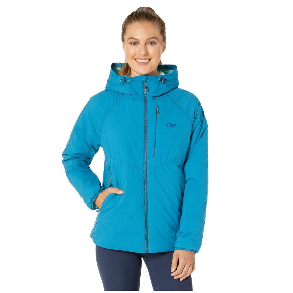 アウトドアリサーチ Outdoor Research レディース スキー・スノーボード フード ジャケット アウター【Refuge Hooded Jacket】Celestial Blue