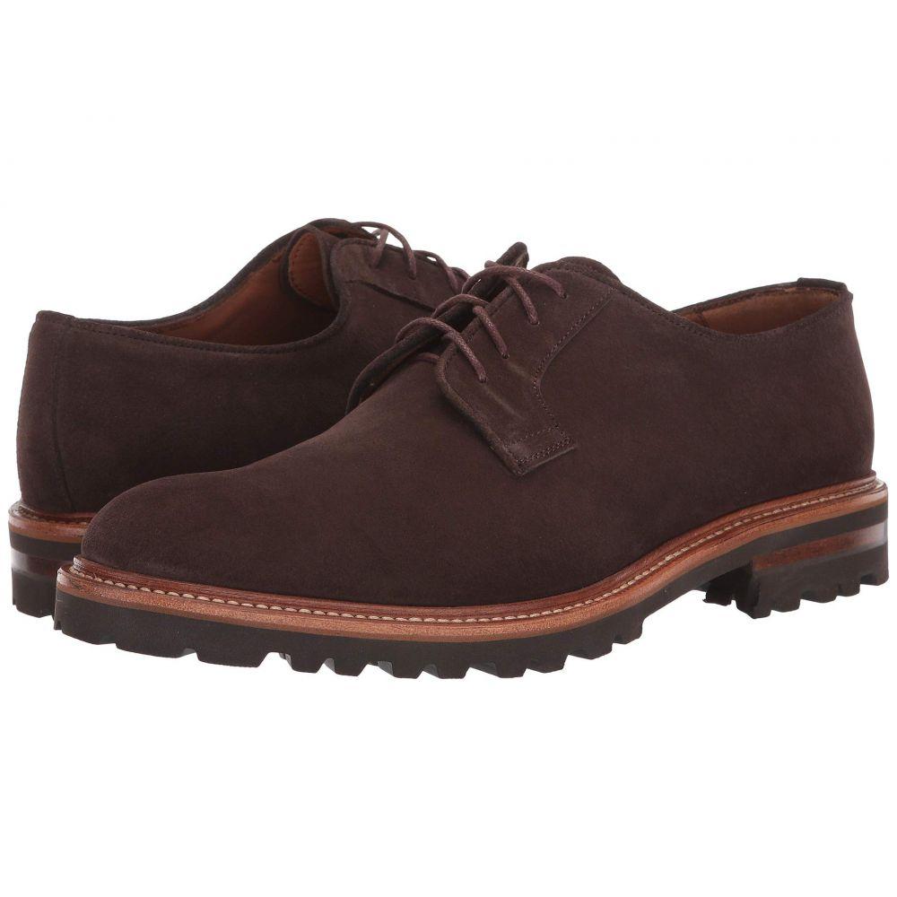 アクアタリア Aquatalia メンズ 革靴・ビジネスシューズ シューズ・靴【Leon】Dark Brown Suede