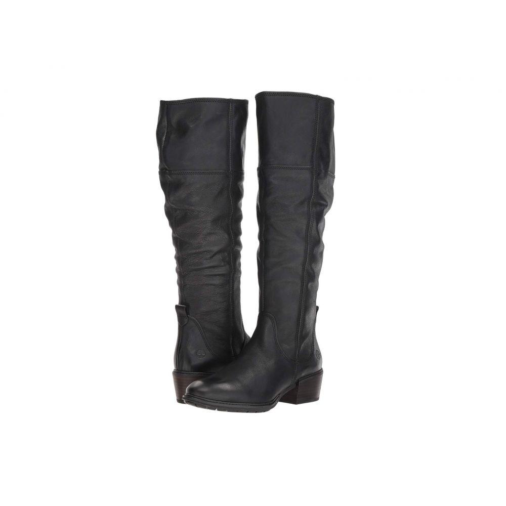 ティンバーランド Timberland レディース ブーツ シューズ・靴【Sutherlin Bay Tall Boot】Black Full Grain
