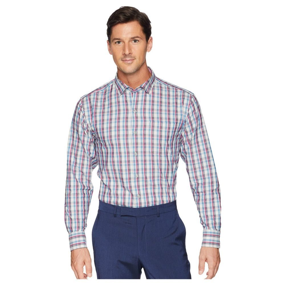 トミー バハマ Tommy Bahama メンズ シャツ トップス【Palmar Plaid Shirt】Blue Jean