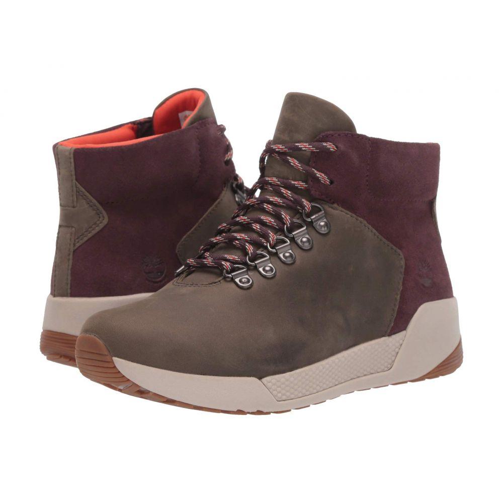 ティンバーランド Timberland レディース ハイキング・登山 シューズ・靴【Kiri Up Waterproof Hiker】Medium Grey Full Grain