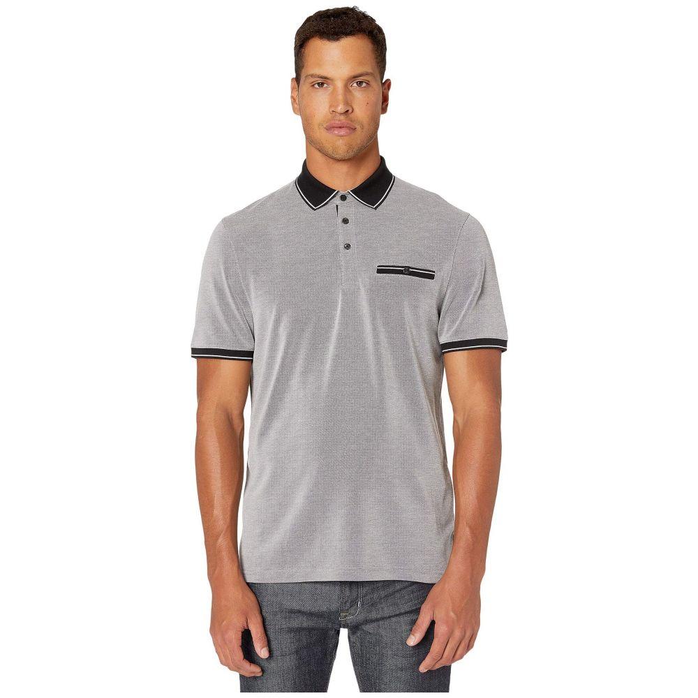 テッドベーカー Ted Baker メンズ ポロシャツ 半袖 トップス【Mightie Short Sleeve Flat Knit Soft Touch Polo】Black