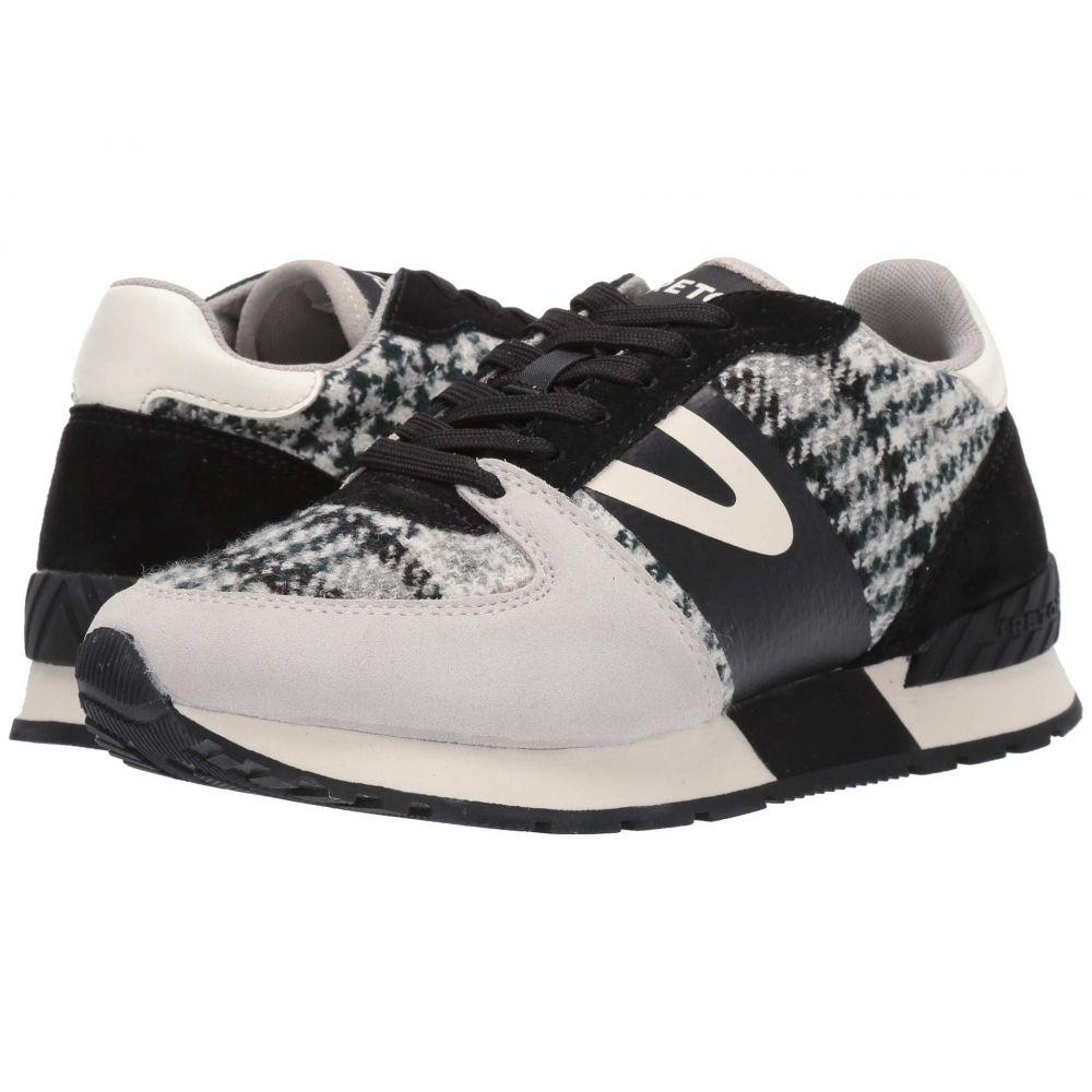 トレトン Tretorn レディース スニーカー シューズ・靴【Loyola 2】Light Grey/Black/White