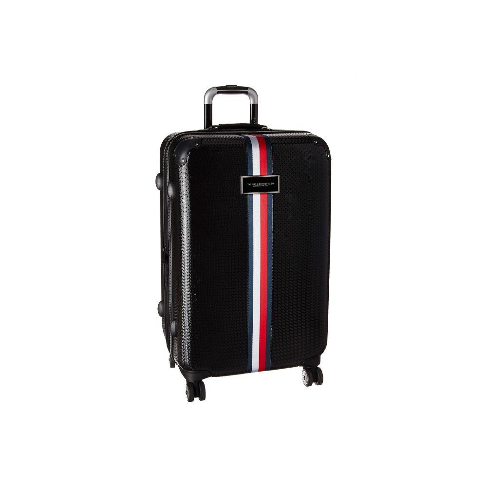 トミー ヒルフィガー Tommy Hilfiger ユニセックス スーツケース・キャリーバッグ バッグ【Basketweave 25 Upright Suitcase】Black