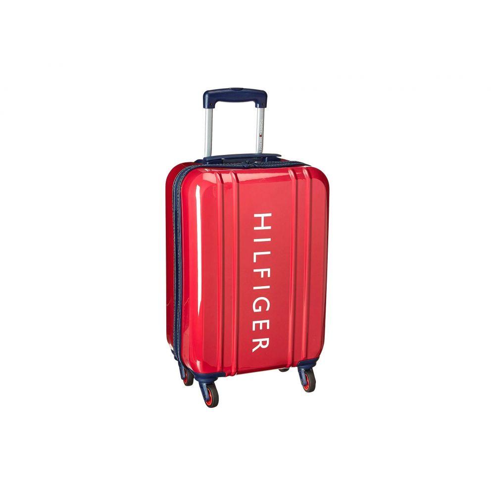 トミー ヒルフィガー Tommy Hilfiger ユニセックス スーツケース・キャリーバッグ ハードサイド バッグ【21 Maryland Hardside Upright Suitcase】Red