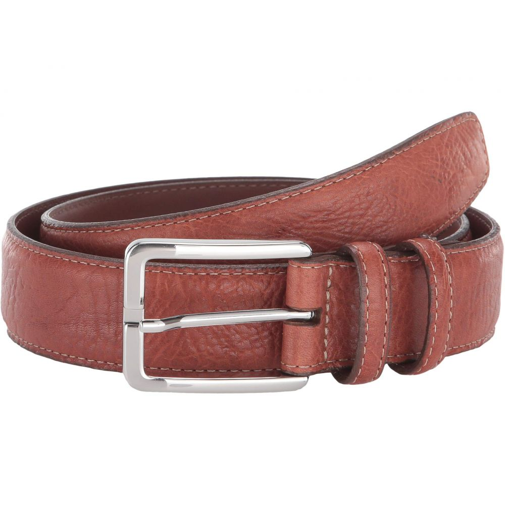 トリノレザー Torino Leather Co. メンズ ベルト 【35 mm Shrunken Bull Shoulders】Tan