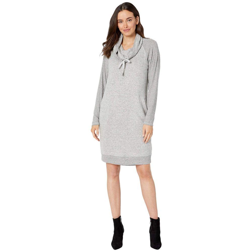 トリバル Tribal レディース ワンピース ワンピース・ドレス【Long Sleeve Casual Dress w/ Pockets】Grey Mix