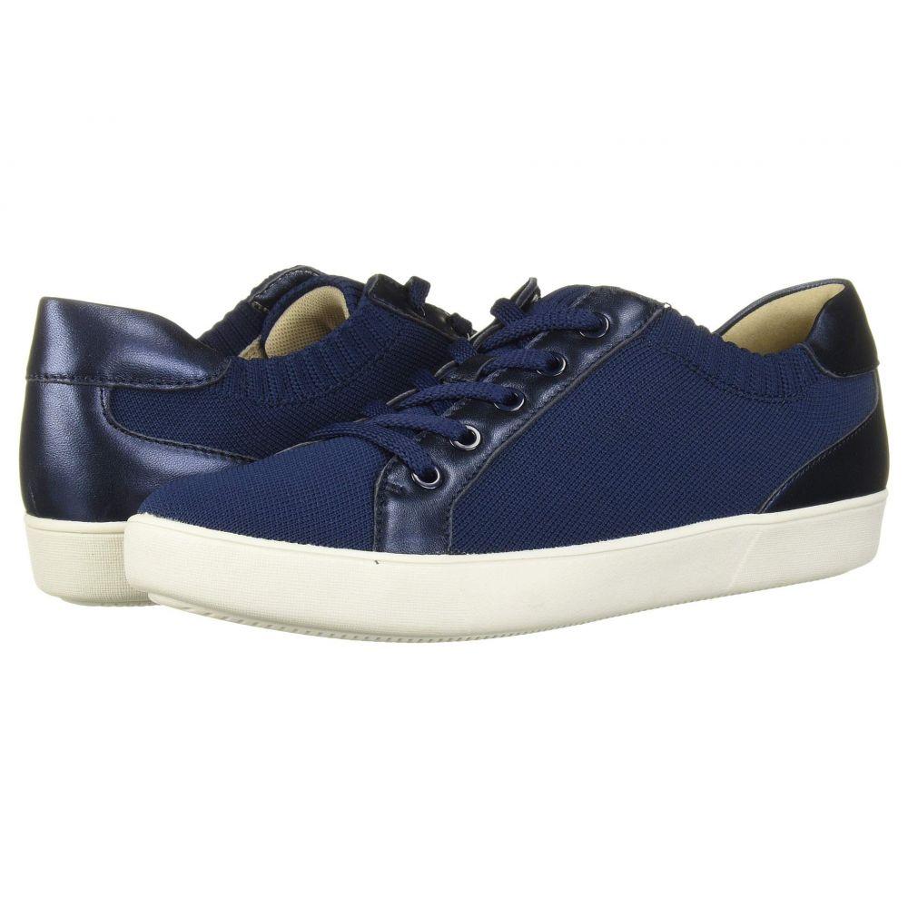 ナチュラライザー Naturalizer レディース スニーカー シューズ・靴【Morrison】Blue Flyknit Fabric/Metallic Leather