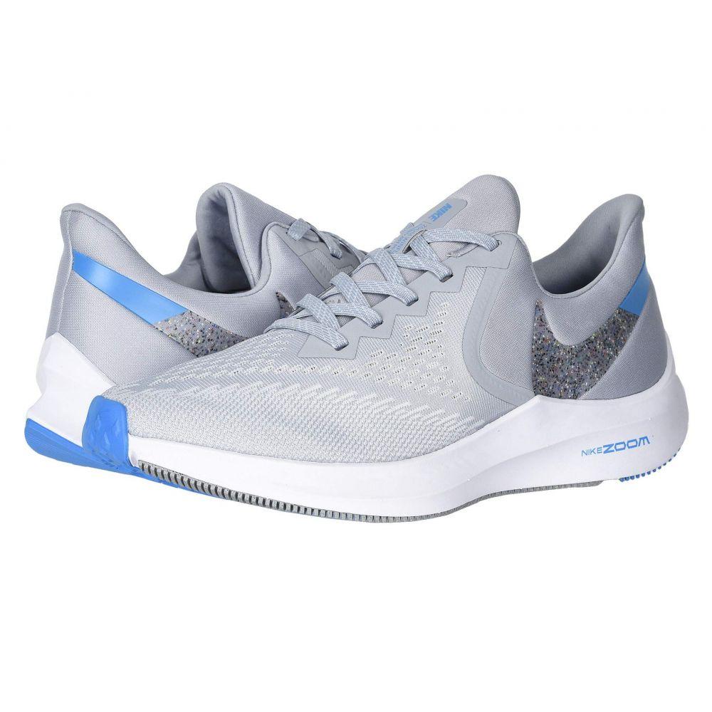 ナイキ Nike メンズ ランニング・ウォーキング シューズ・靴【Air Zoom Winflo 6】Wolf Grey/Multicolor/White/Blue Hero