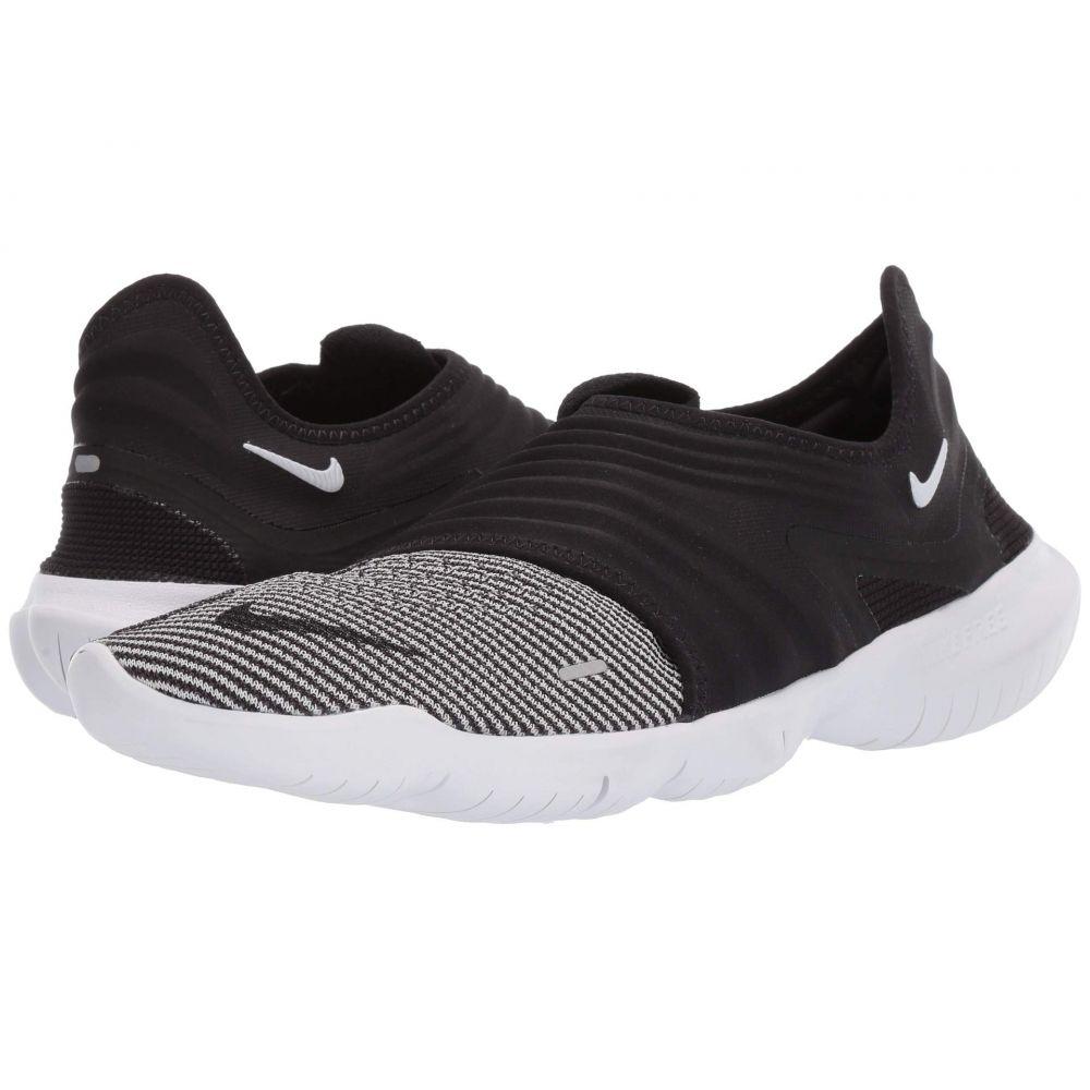 ナイキ Nike メンズ ランニング・ウォーキング シューズ・靴【Free RN Flyknit 3.0】Black/White/Volt