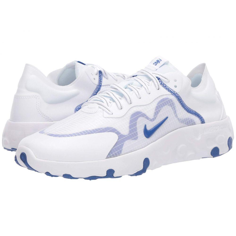 ナイキ Nike メンズ スニーカー シューズ・靴【Renew Lucent】White/Game Royal