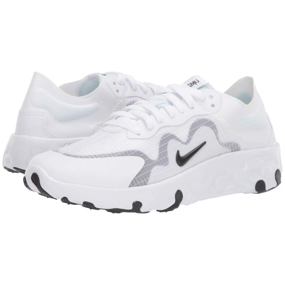 ナイキ Nike レディース スニーカー シューズ・靴【Renew Lucent】White/Black