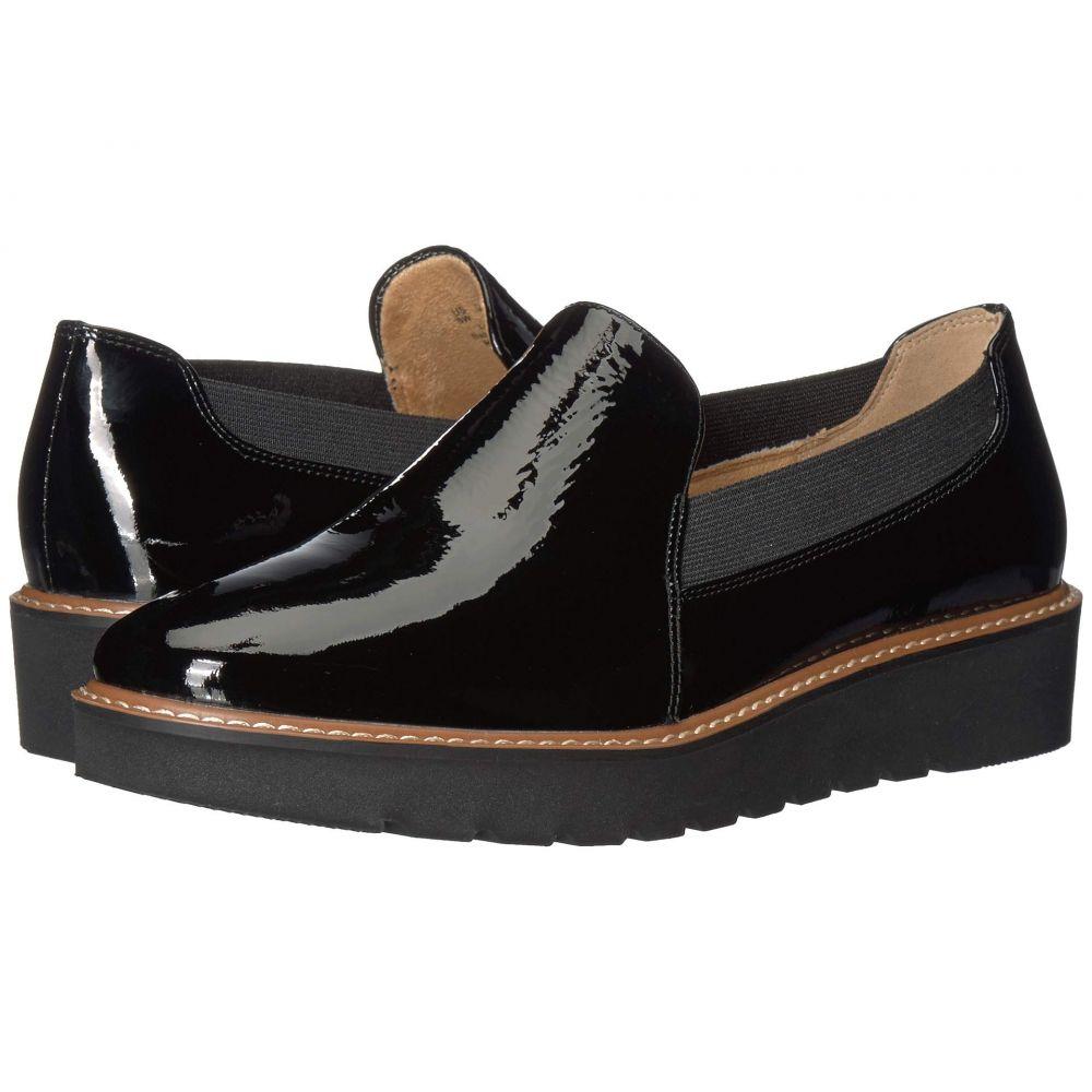 ナチュラライザー Naturalizer レディース ローファー・オックスフォード シューズ・靴【Adra】Black Patent Leather