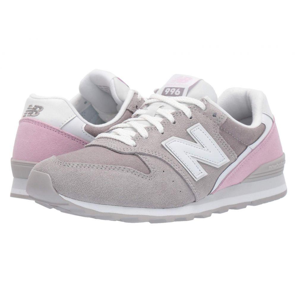 ニューバランス New Balance Classics レディース スニーカー シューズ・靴【WL996v2-USA】Marblehead/Oxygen Pink