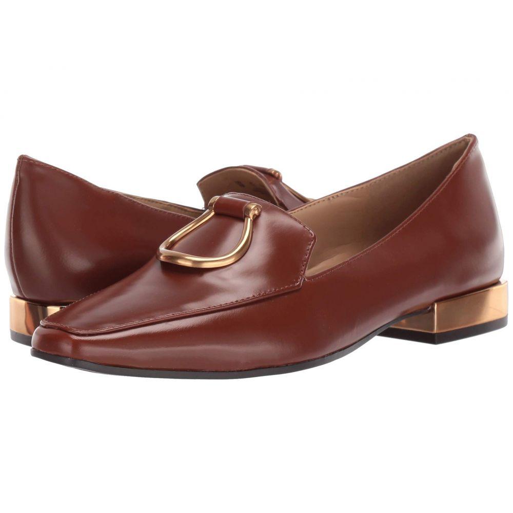 ナチュラライザー Naturalizer レディース ローファー・オックスフォード シューズ・靴【Corrine】Brown Brush Off Leather