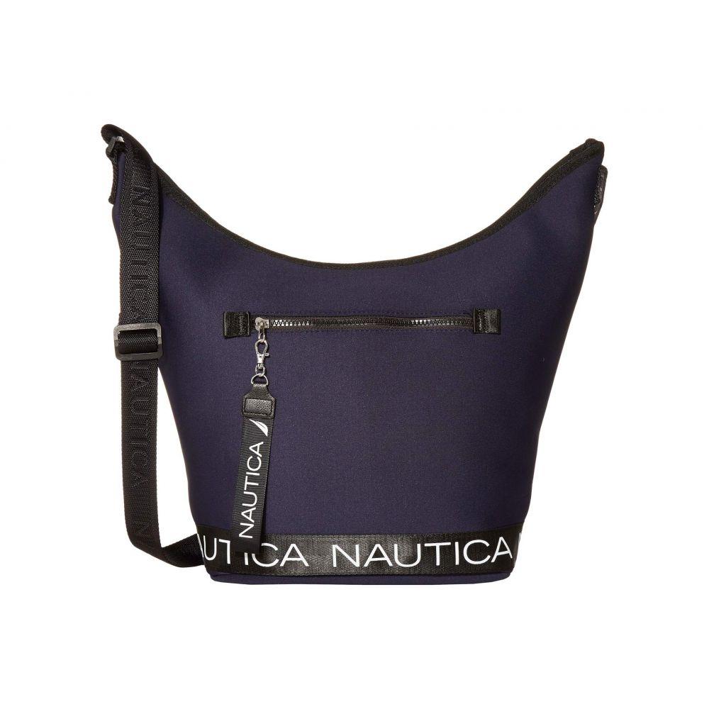 ノーティカ Nautica レディース ハンドバッグ バッグ【Hobo Bucket】Navy/Black