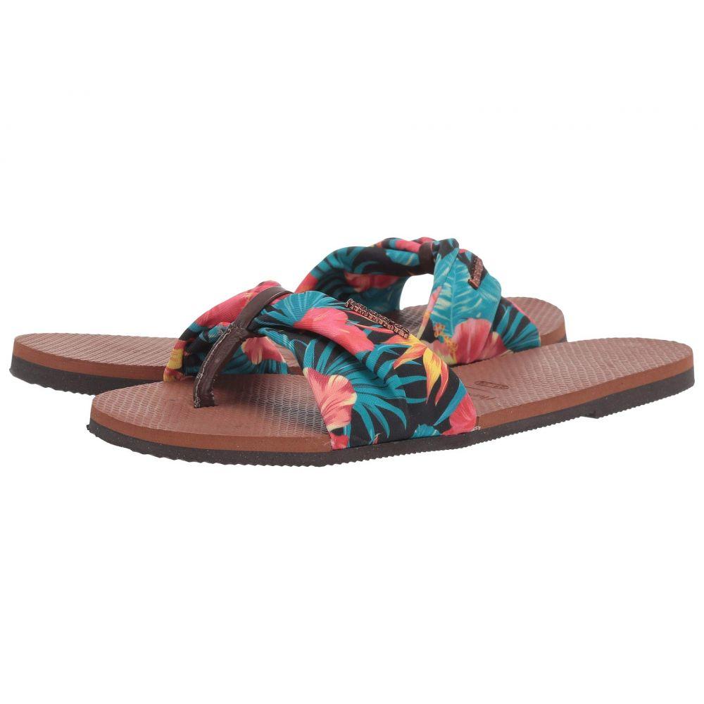 ハワイアナス Havaianas レディース ビーチサンダル シューズ・靴【You Saint Tropez Sandals】Rust