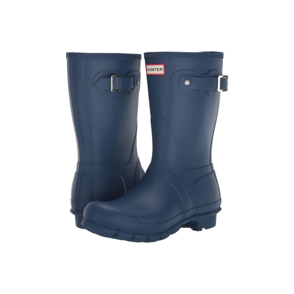 ハンター Hunter レディース レインシューズ・長靴 シューズ・靴【Original Short Rain Boots】Peak Blue