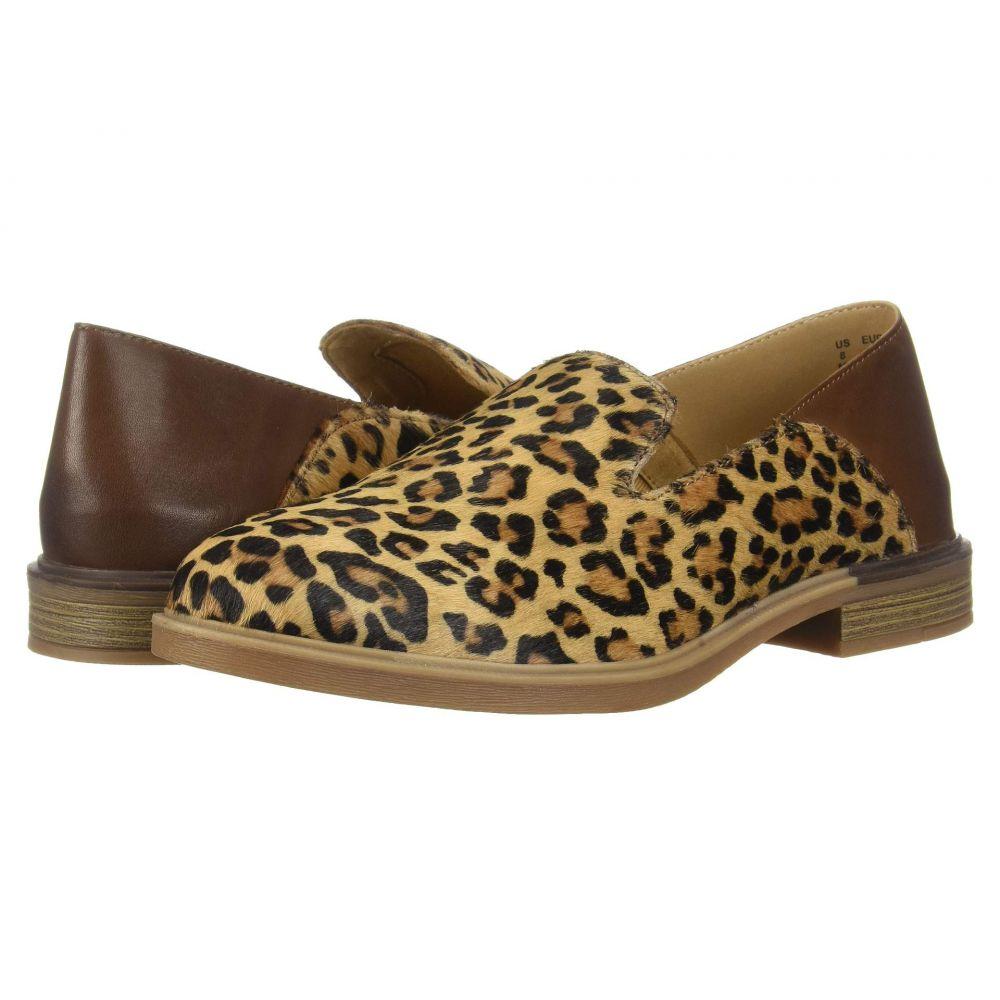 ハッシュパピー Hush Puppies レディース ローファー・オックスフォード シューズ・靴【Bailey Slip-On】Leopard Haircalf