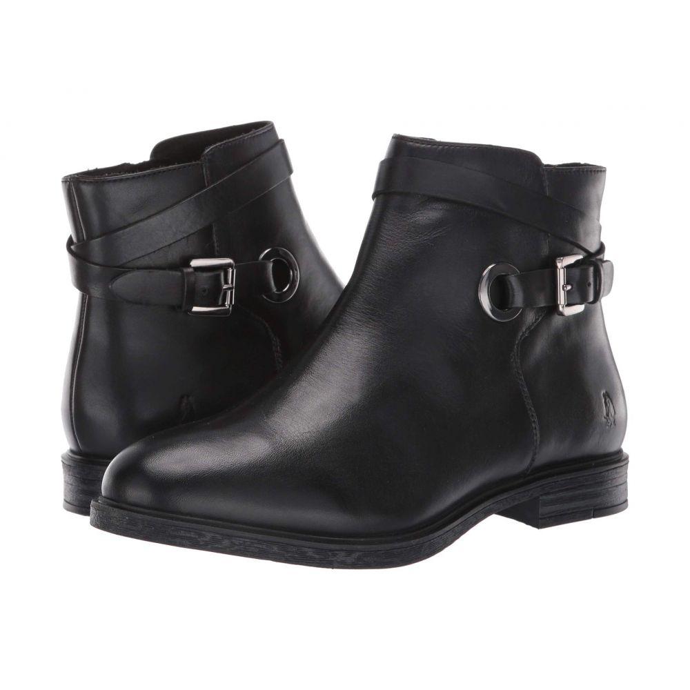 ハッシュパピー Hush Puppies レディース ブーツ シューズ・靴【Bailey Strap Boot】Black Leather