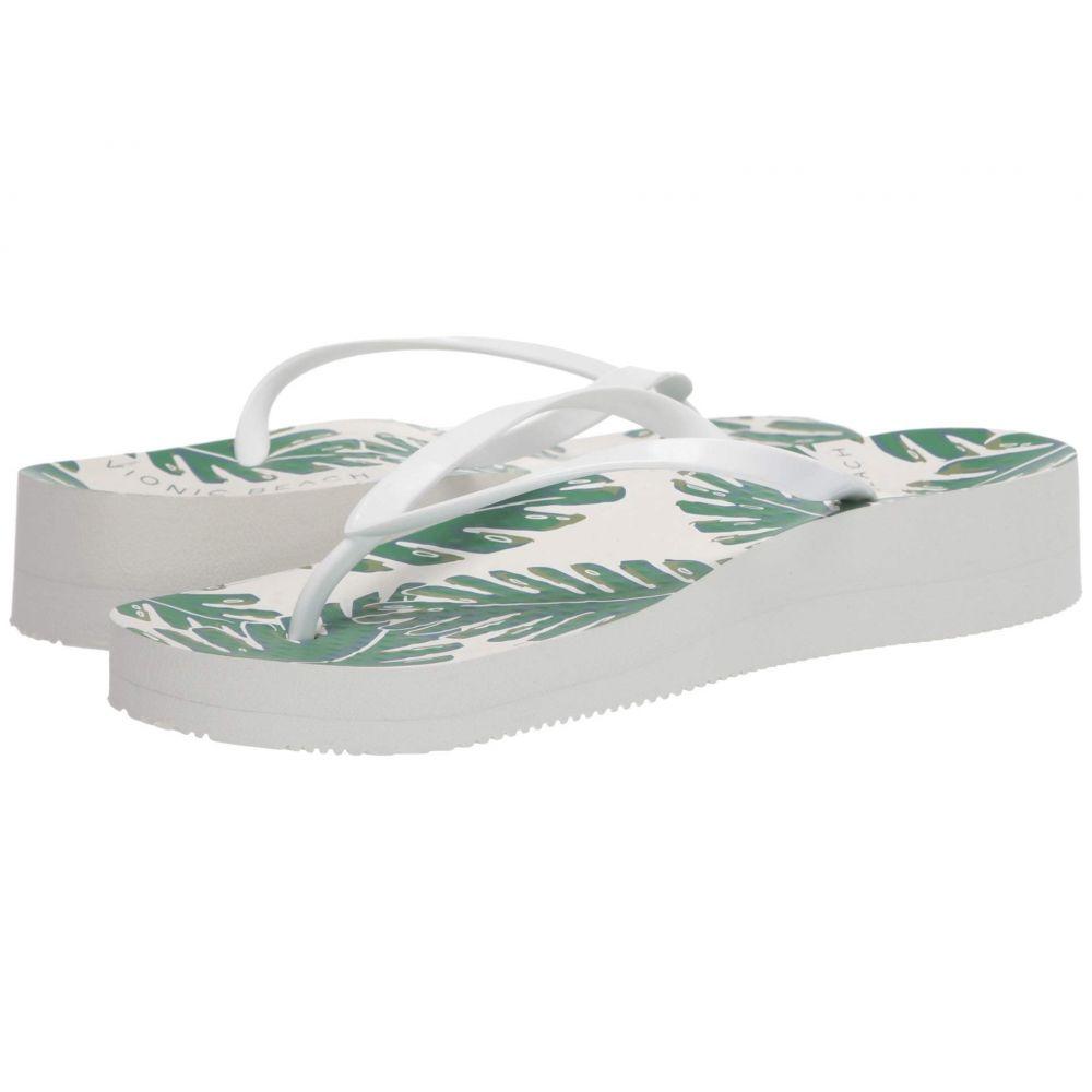 バイオニック VIONIC レディース ビーチサンダル シューズ・靴【Hcoogee Palm】White