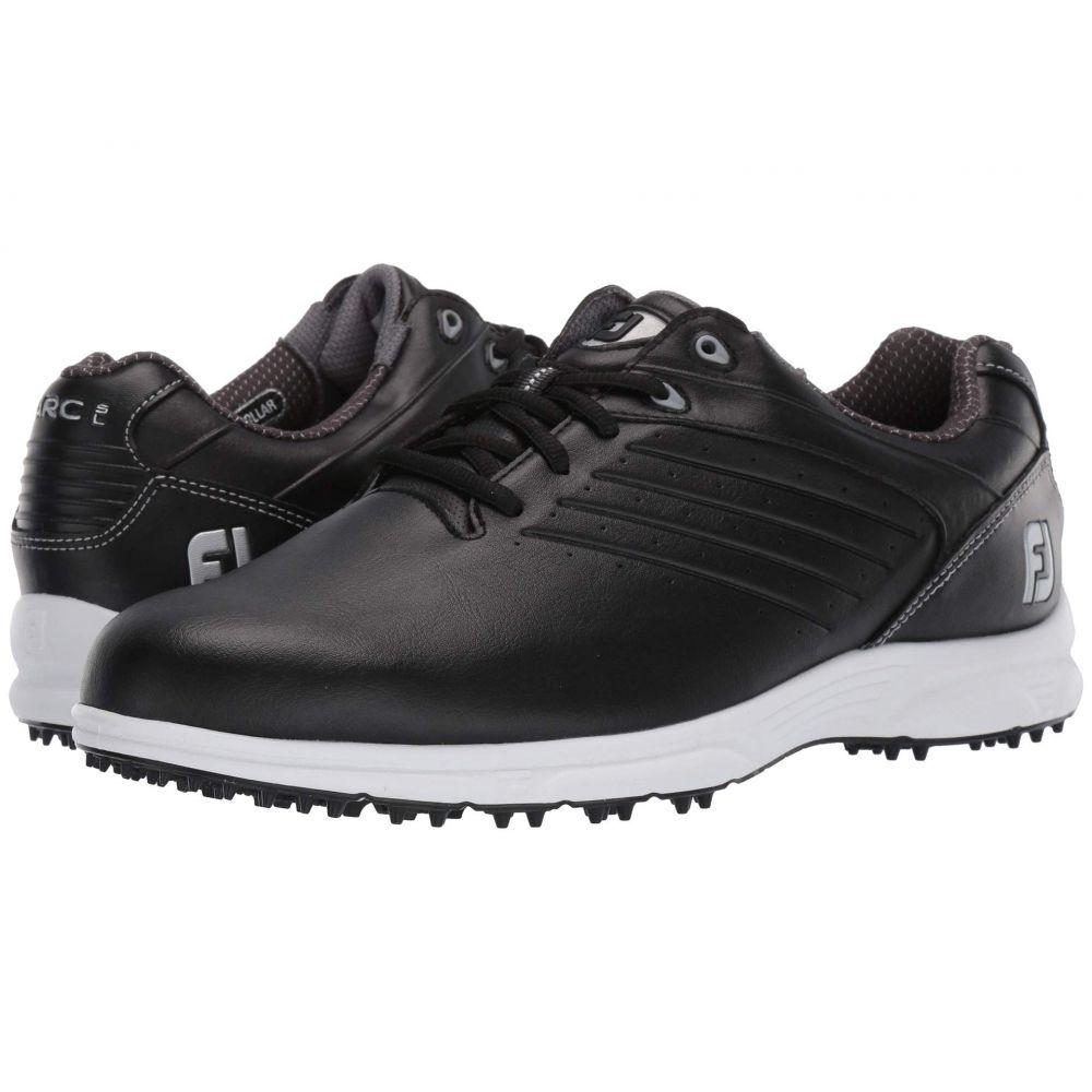 フットジョイ FootJoy メンズ ゴルフ シューズ・靴【ARC SL Spikeless Plain Toe w/ Microperfs】All Over Black
