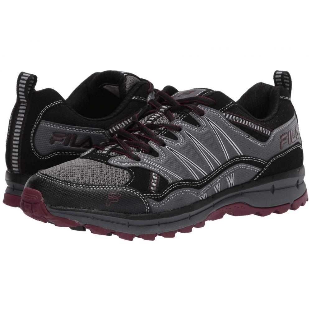 フィラ Fila メンズ ランニング・ウォーキング シューズ・靴【Evergrand Trail】Castlerock/Black/Tawny