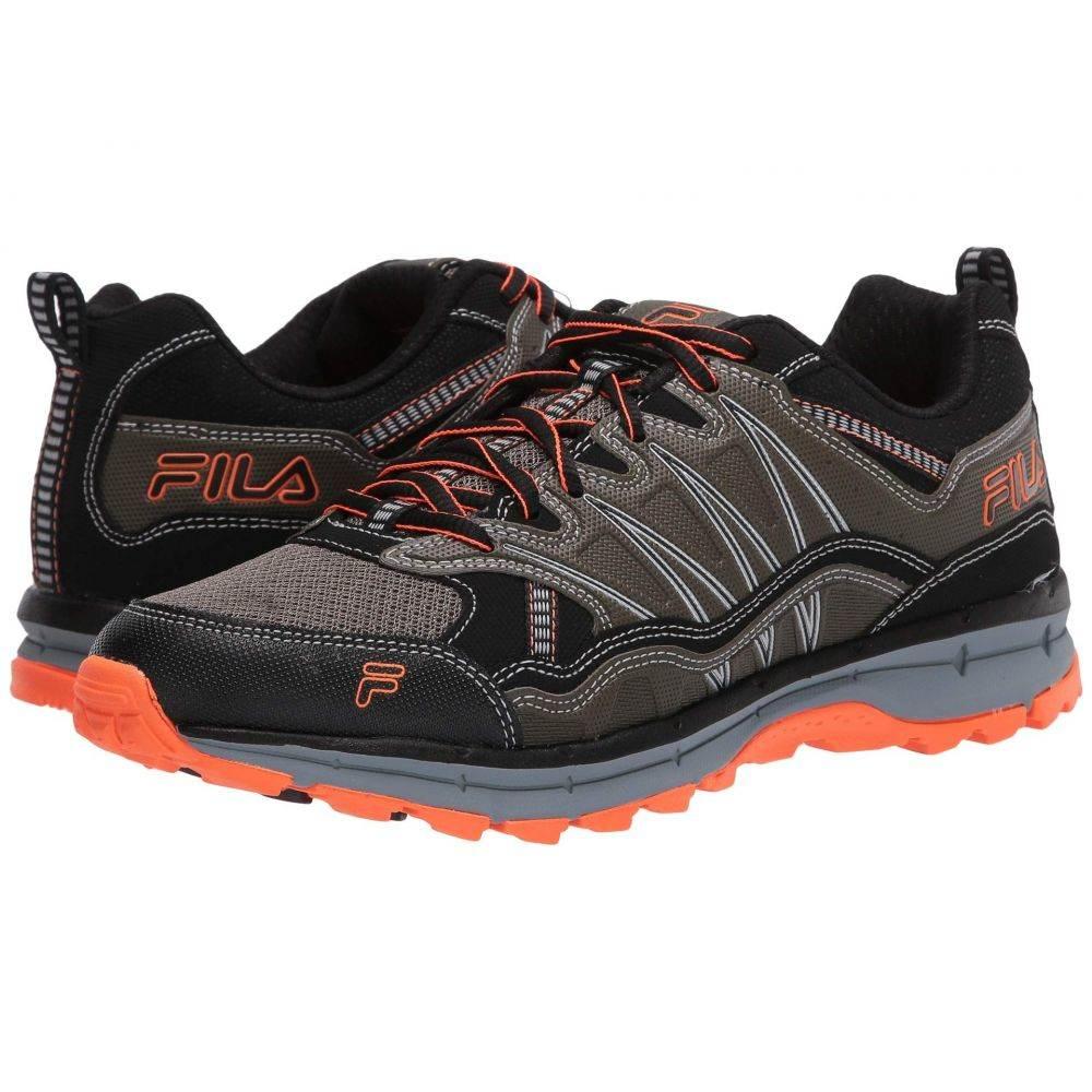 フィラ Fila メンズ ランニング・ウォーキング シューズ・靴【Evergrand Trail】Tarmac/Black/Shocking Orange