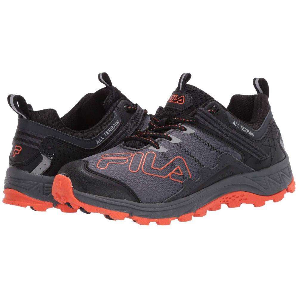 フィラ Fila メンズ ランニング・ウォーキング シューズ・靴【Blowout 19 Trail】Castlerock/Black/Red Orange
