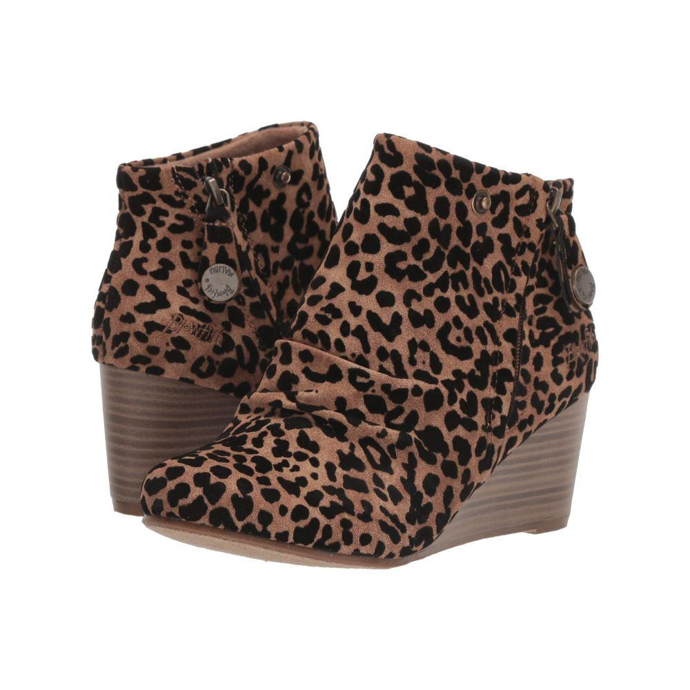 ブローフィッシュ Blowfish レディース ブーツ シューズ・靴【Berkeley】Caramel Leopard Ojai PU