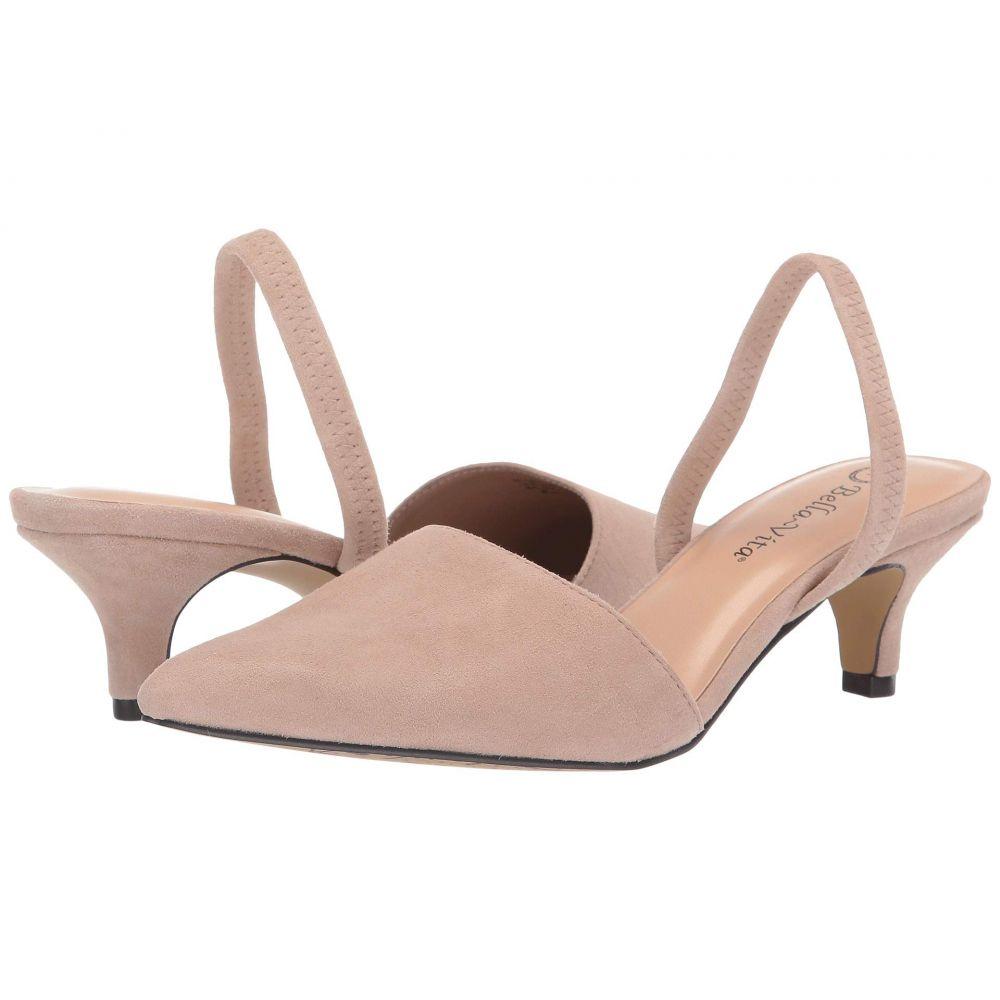 ベラヴィータ Bella-Vita レディース パンプス シューズ・靴【Sarah】Almond Suede Leather